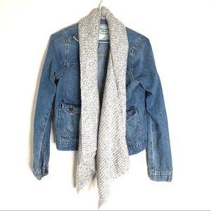 Abercrombie & Fitch Denim Shrug Jacket